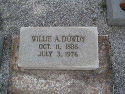 Willie Maryetta <i>Ables</i> Dowdy