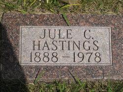 Julius Clarence Hastings