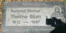 Thelma Lovella <i>Blum</i> Blum