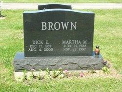 Martha M <i>Stevenson</i> Brown