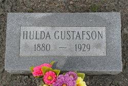 Hulda <i>Larson</i> Gustafson