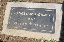 Eleanor Nora <i>Chaves</i> Adkisson