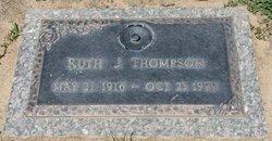 Ruth Evangeline <i>Dahlund</i> Thompson