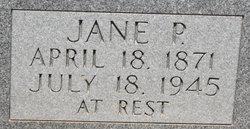 Jane P <i>Loftin</i> Swearingen