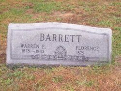 Warren E Barrett