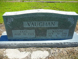 George Washington Washie Vaughan