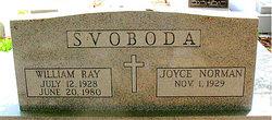 William Ray Svoboda
