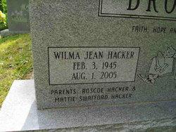 Mrs Wilma Jean <i>Hacker</i> Brock