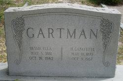 Bessie Ella <i>Keisler</i> Gartman