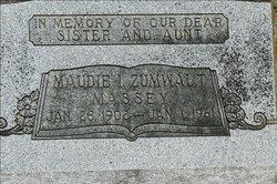 Maudie Inez <i>Zumwalt</i> Massey
