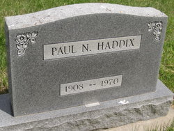 Paul N Haddix