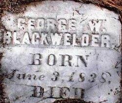 George Wilson Blackwelder