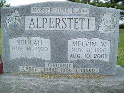 Melvin W Alperstett