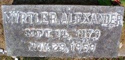 Myrtle R. Alexander