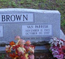 Van <i>Parrish</i> Brown
