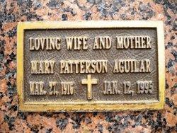 Mary Elma <i>Patterson</i> Aguilar