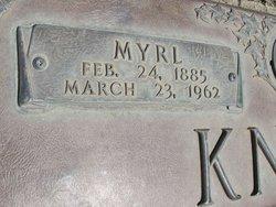 Docie Myrl <i>Meador</i> Knick