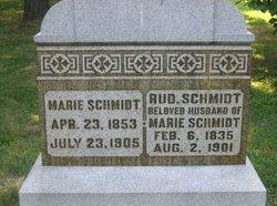 Marie Charlotte Mary <i>Thias</i> Schmidt