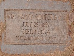 Dr William Hardy Cooper