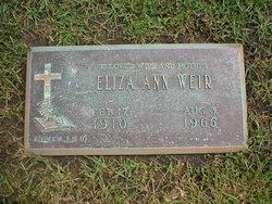 Eliza Ann <i>Rodgers</i> Weir