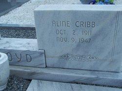 Aline <i>Cribb</i> Boyd