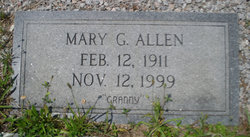 Mary Bell <i>Gulledge</i> Allen