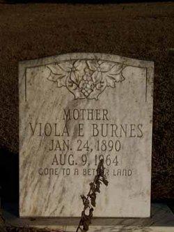 Viola Elizabeth <i>Childers</i> Burnes