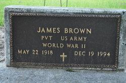Pvt James Brown