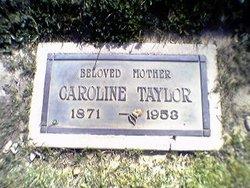 Caroline <i>Clark</i> Taylor