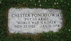Pvt Chester Poniatowski