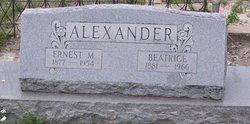 Ernest Melvin Alexander