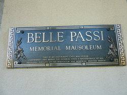 Belle Passi Memorial Mausoleum