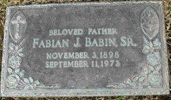 Fabian J. Babin, Sr
