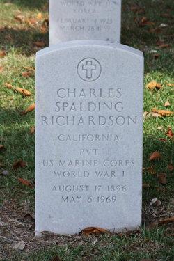 Charles Spalding Richie Richardson