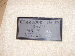 Commodore Daly Davis