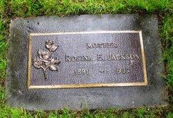 Rosina Elizabeth <i>Humm Harrison</i> Jackson