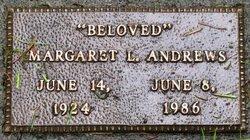 Margaret Lillian <i>Jackson Jensen</i> Andrews