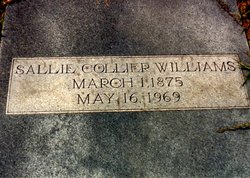 Sallie K. <i>Collier</i> Williams