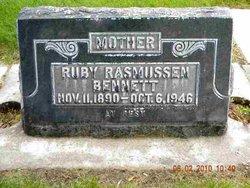 Ruby May <i>Rasmussen</i> Bennett