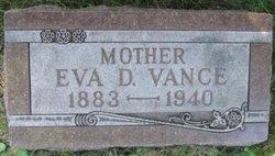 Eva Deloris <i>Applegate</i> Vance