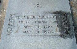 Edra Bebe <i>Daniels</i> Bennett
