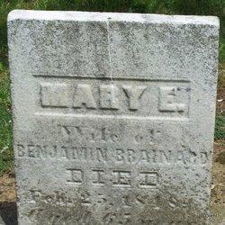 Mary E <i>Slocum</i> Brainard
