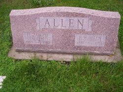 Flora Elizabeth Lizzie <i>Goin</i> Allen