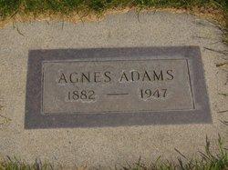 Agnes <i>Farnsworth</i> Adams