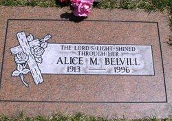 Alice Mildred <i>Marsh Jungberg</i> Belvill