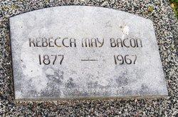 Rebecca May <i>Boren</i> Bacon