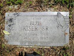 Rev Elzie Kiser, Sr