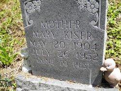 Mary Alice <i>Webb</i> Kiser