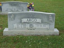 Phyllis Terry <i>Campbell</i> Argo