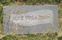 Alice Viola Dixon